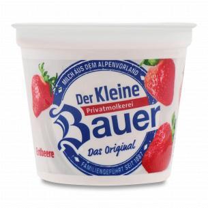 Йогурт Bauer Der Kleine c клубникой 3,5%