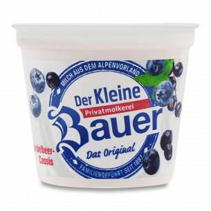 Йогурт Bauer Der Kleine c черникой 3,5%
