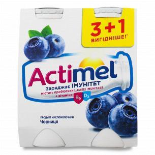 Йогурт Actimel чорниця 1.5%