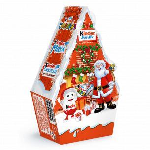 Подарочный набор Kinder Мini Mix новогодний