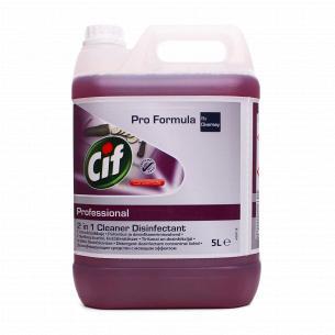 Засіб Cif Professional Oxy-Gel 2в1 для миття та дезінфекції поверхонь