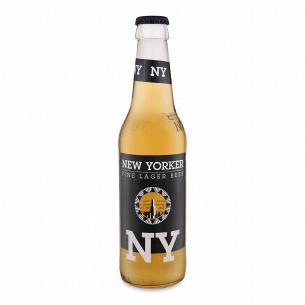 Пиво New Yorker Lager світле