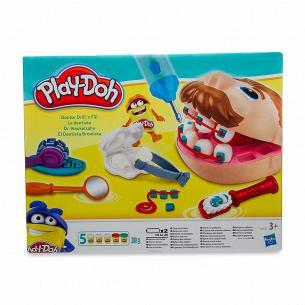 Набор игровой Play-Doh PD Мистер зубастик 3 банки 37366