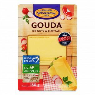 Сыр Wloszczowa Гауда нарезанный ломтиками 45%