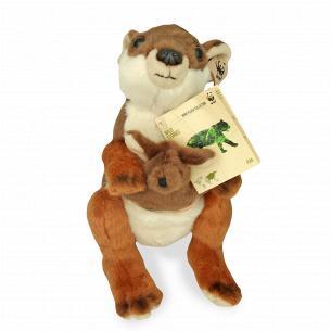 Іграшка м`яка WWF Кенгуру та її малюк