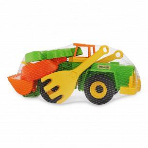 Игрушка Tigres Экскаватор + Набор для песка 5 элементов 39644