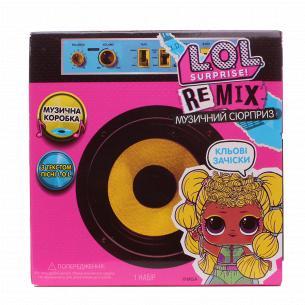 Набір L.O.L. Surprise! Remix Hairflip Музичний сюрприз W1