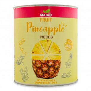 Ананас Magic Fruit кусочки в легком сиропе