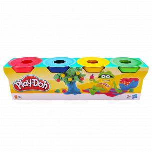 Набор для лепки Play-Doh мини 4 баночки 23241