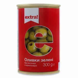 Оливки Extra! зеленые без...