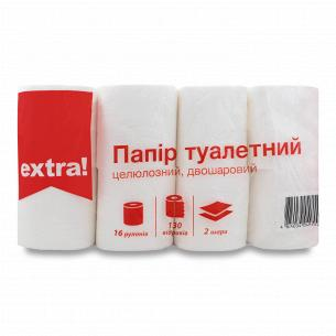 Папір туалетний Extra!...