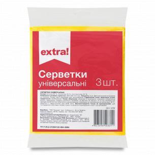 Салфетки Extra! универсальные