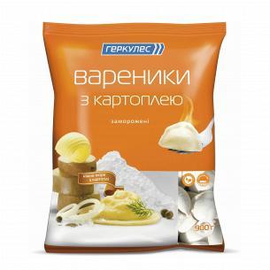 Вареники Геркулес с картофелем