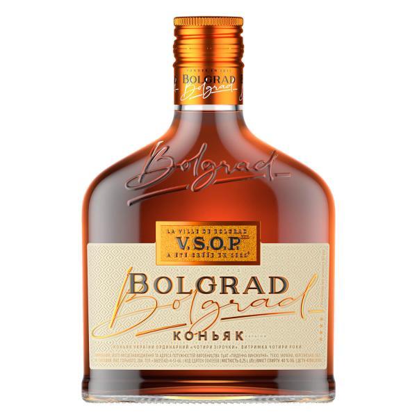 Коньяк Bolgrad ординарный 4 звезды