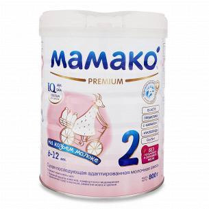 Смесь Мамако 2 Premium сухая молочная