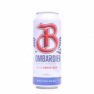 Пиво Bombardier янтарное ж/б