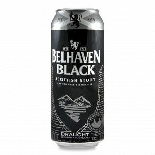 Пиво Belhaven Black темне ж/б