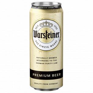 Пиво Warsteiner светлое ж/б