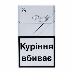 Сигареты Davidoff One