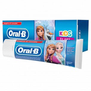 Паста зубная Oral-B Kids Frozen или Cars легкий вкус