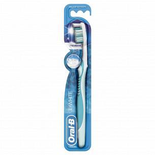 Щетка зубная Oral-B 3D White средней жесткости 40 M