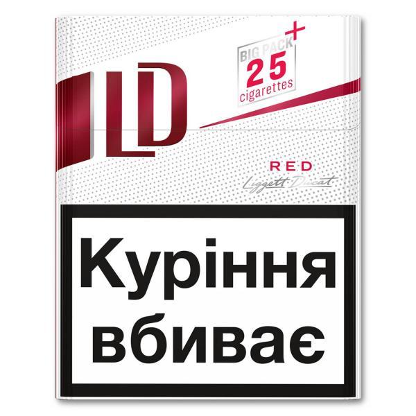 Сигареты лд красные цена оптом чапман вишня сигареты купить