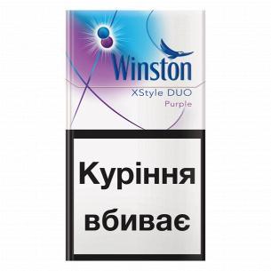 Сигареты Winston XStyle Duo Purple