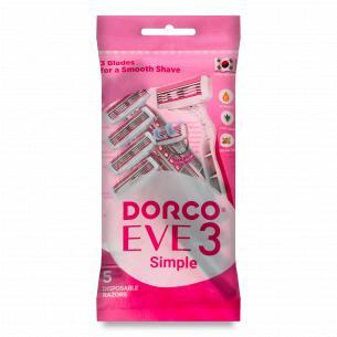 Станки для бритья женские Dorco 3 лезвия
