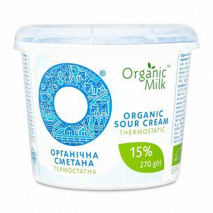 Сметана Organic Milk...