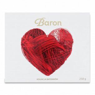 Батончики Baron асорті шоколадні
