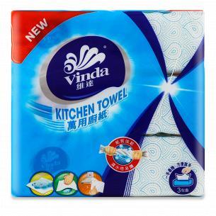 Рушники кухонні Vinda паперові