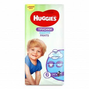 Подгузники-трусики для мальчика Huggies 6 15-25кг