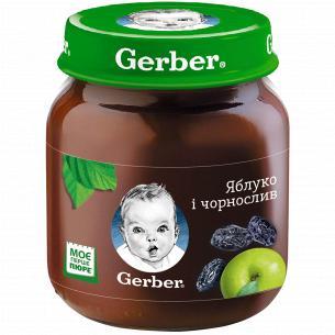 Пюре Гербер яблоко и...