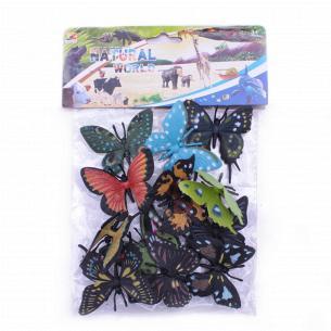 Набор игровой Бабочки 12пр