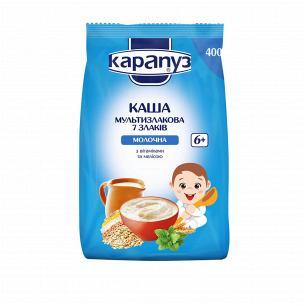 Каша 7 злаків Карапуз молочна