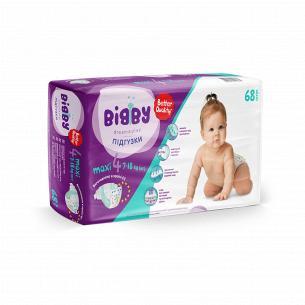 Подгузники Bibby Maxi 7-18кг