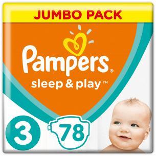 Подгузники Pampers Sleep &...
