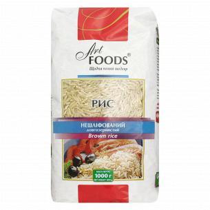 Рис Art Foods нешлифованный