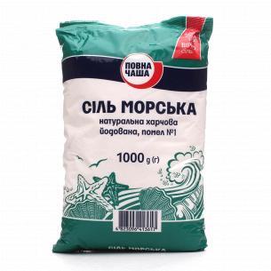 """Соль морская """"Повна Чаша""""..."""