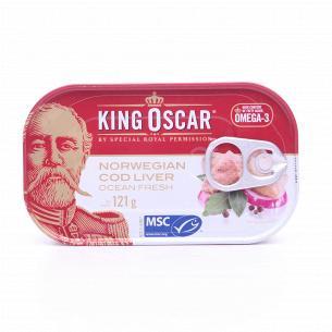 Печень трески King Oscar...