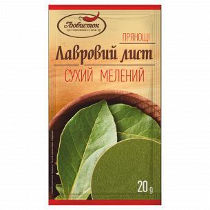 Лист Любисток лавровый молотый