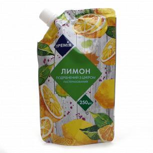 Лимон Премія подрібнений з...