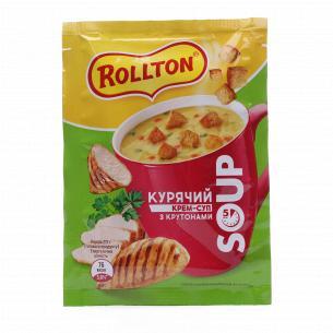Крем-суп Rollton куриный с...