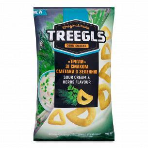 Снеки Treegls кукурузные...