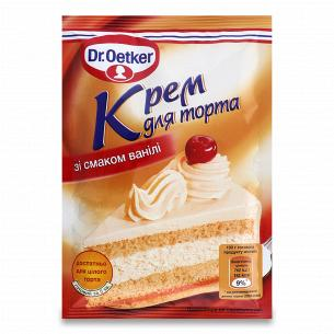 Крем Dr.Oetker для торта со вкусом ванили