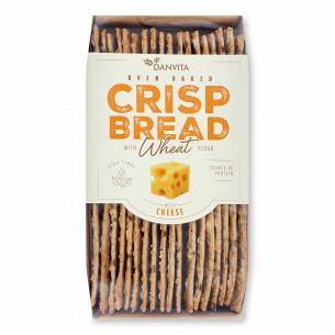 Хлебцы Danvita хрустящие пшеничные с сыром