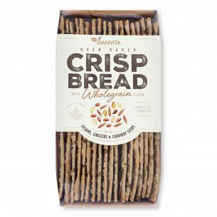 Хлебцы Danvita хрустящие с семенами льна-кунжута-тмина