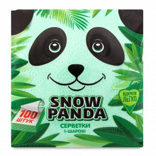 Серветки Сніжна панда...