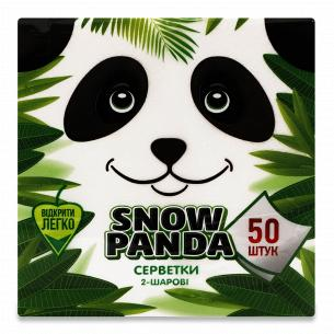 Серветки Сніжна панда білі...