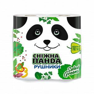 Рушники паперові Сніжна панда